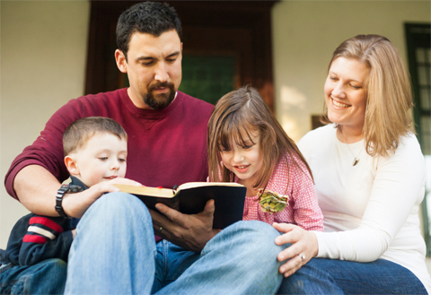 family-reading-bible